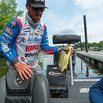 2018 LaCrosse Elite Series Mississippi River Photo Gallery - Jacob Wheeler Fishing - Pro Bass Fishing Angler